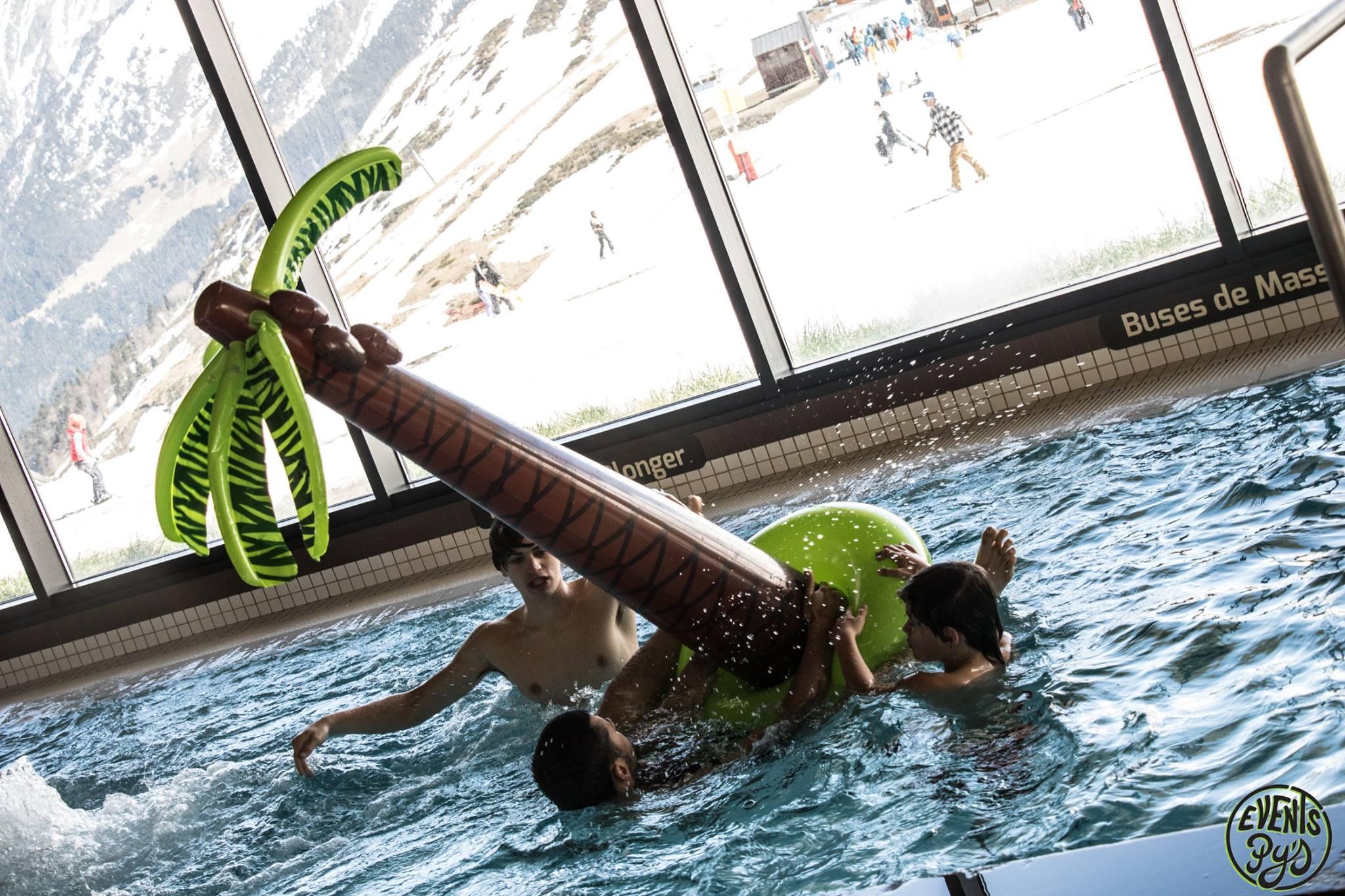 organisation d'animation enfants en piscine