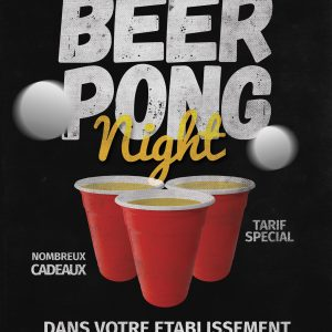Tournoi Beer Pong by Events Py's