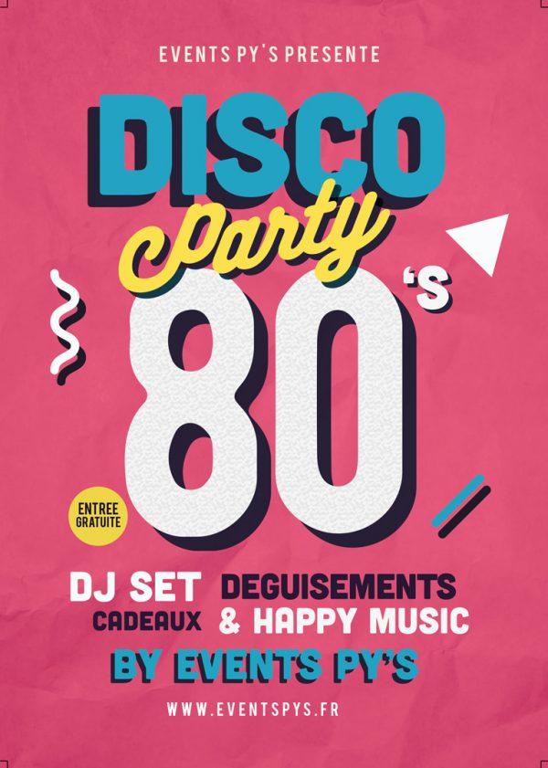 Soirée Disco & Année 80's