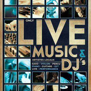 Concert Dj & live music