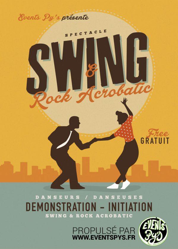 Spectacle Swing Rock acrobatic